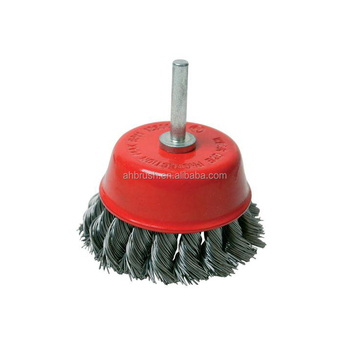 Industrial Steel Wire And Brass Wire Cup Cleaning Brushes
