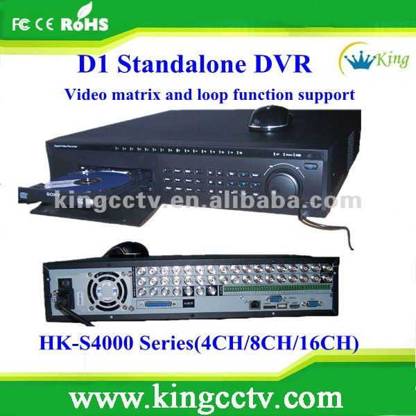 cctv dvr player cctv net video dvr cctv digital video recorder HK-S4008F with HDMI
