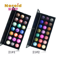 Hot sale 21 color baked eyeshadow with high pigment