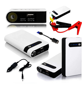 Fast Move Selling Items Car Jump Starter Power Bank 12V Vehicle Battery Charger Real Capacity 8000mah