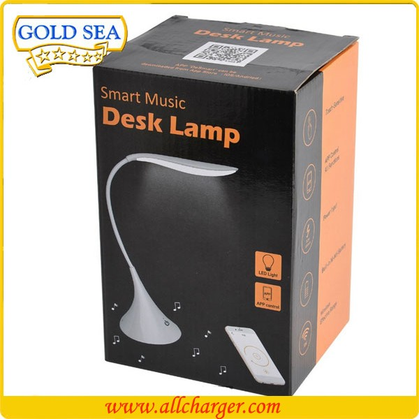 App control rechargeable flexbible usb Dimmable bluetooth led rgb music controller desk lamp