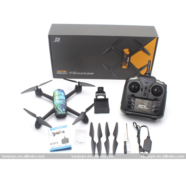 New product SJY-518 GPS positioning RC drone wifi real time drone with 720P camera quadcopter altitude hold headless mode