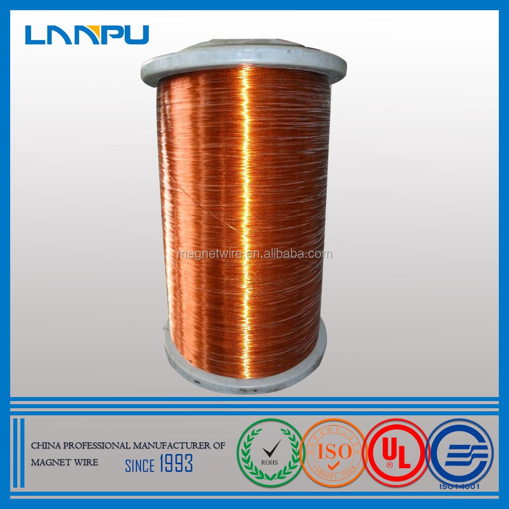 UL Approved AWG SWG 16 Gauge Colored Cooper Wire Enameled Copper Winding Wire