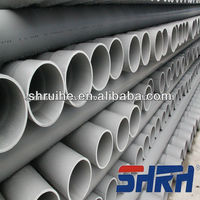 plastic large diameter pvc irrigation pipe