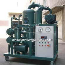 Vacuum used transformer oil purifier,portable oil refinery