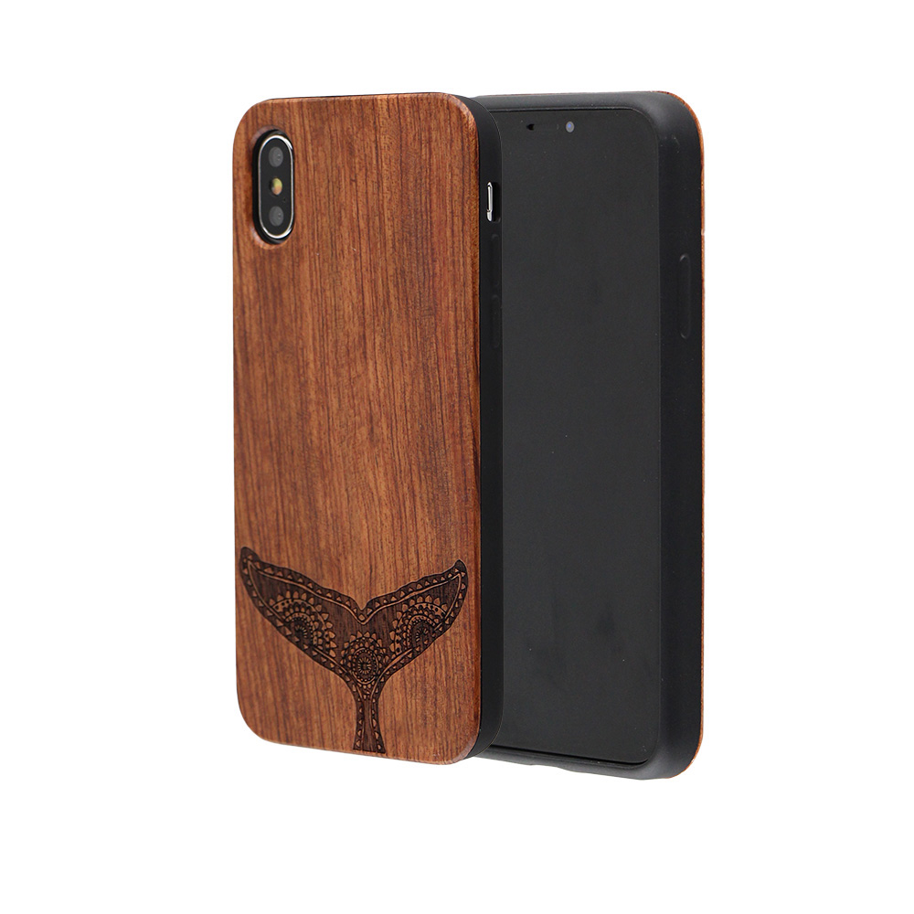 2019 New Products Luxury Wood Mobile Phone <strong>Accessories</strong> for iPhone X Flexible TPU Bumper Cases Cover