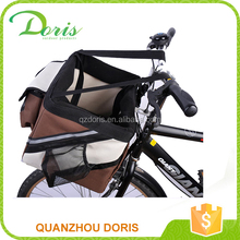 dog bike carrier dog bike basket bike dog carrier