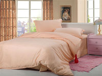 full bedroom set peach color cheap 100% cotton bed sheets