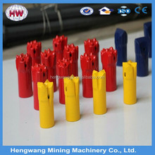 34mm rock drill taper button coal mine sds max drill bit