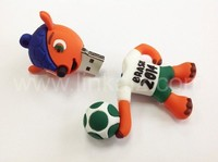 factory price world cup football usb flash drive 8GB cartoon usb for brazil