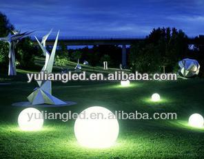 2014 Newest color changing RGB magic led ball