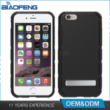 Oem Protective Smartphone Cover Shell Kickstand Hybrid Soft Tpu Pc Armor Mobile Phone Case For Apple Iphone 7