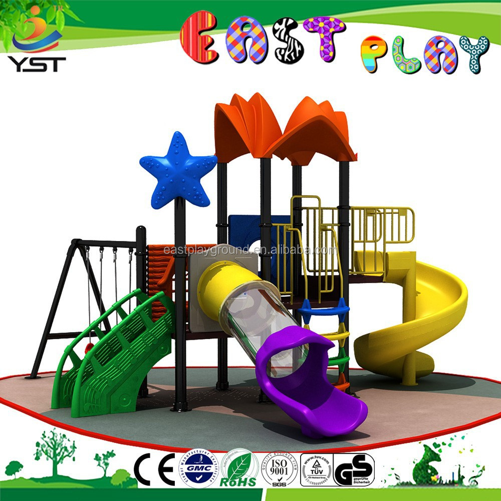 outdoor toy garden swing slide for children