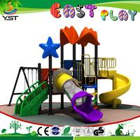 outdoor toy garden swing slide for children