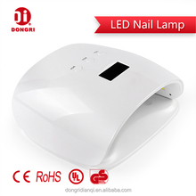 Multi-Funcional 36W Dual Nail Gel Lamp With Smart And Clear Timer Display Screen