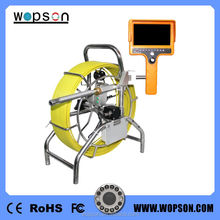60m cable portable sunshade design monitor Drain Inspection camera with 23mm diameter camera