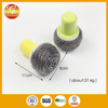 Stainless steel scrubber with handle