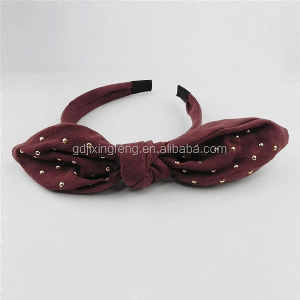 headband bluetooth headset D-543 pearl wedding headbands