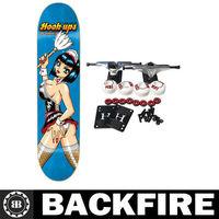 Backfire Skateboard 4 wheels PU wheels cheap skate board wholesale in China