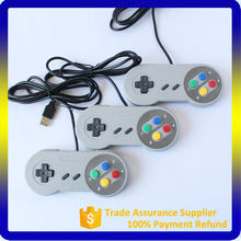 Custom USB game controller for Nidento SNES console