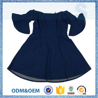Passed SGS test new design models casual dress for girls