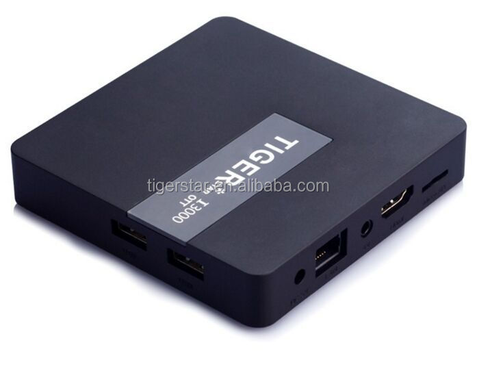 Android TV Box Atsc Tiger I3000 ott Arabia IPTV Box blue film video download