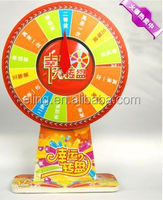 Wheel of Fortune\Lucky Turntable( for lottery\promotion activities)rc model aircraft design