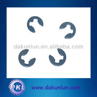 E clip retaining lock steel washer