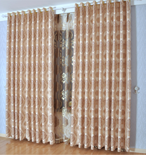 Latest Design of European Style Window Curtains for Living Room