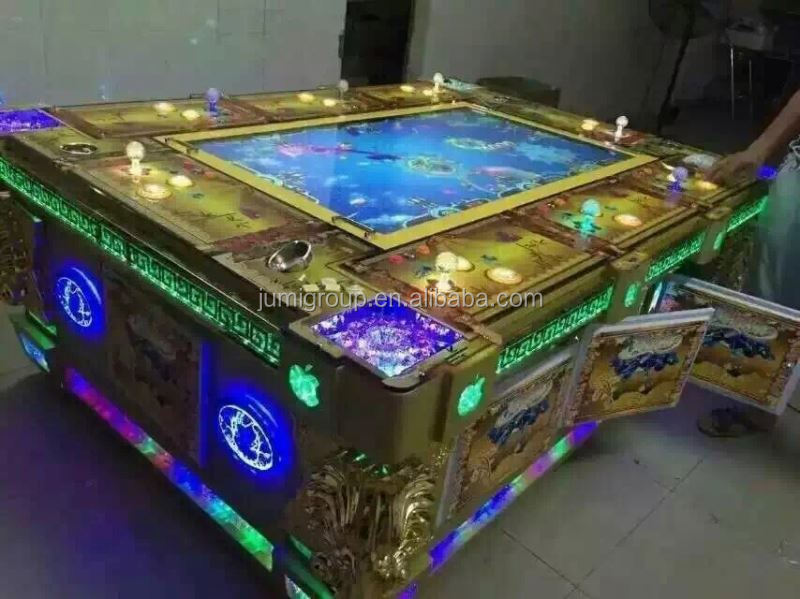 Promotion catch shooting fish game machine with ict bill for Fish game machine