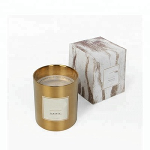 2018 New Ins 100% Soy Wax Scent Candle In Copper Jar