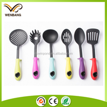 Modern new design 100% food-grade LFGB High Quality nylon kitchenware and cookware /Nylon kitchen utensil set