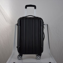 China cheap with best quality clean hard abs trolley luggage case