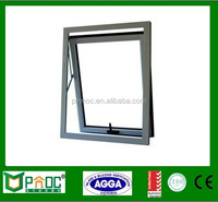 China Supplier And Aluminum Top Hung Window With Double Tempered Glass Made In Chinese Factory