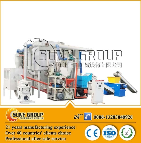 Quality choice waste copper clad board PCB recycling machine