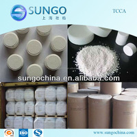 TCCA 90% tablet and granule for public place disinfection
