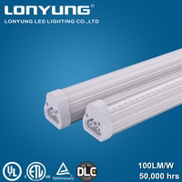 UL listed t5 integrated led light best quality 50000 hours life span