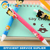 Cartoon Promotion Plastic Ball Pen with Clip