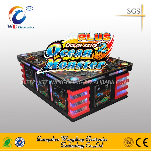 2016 most popular dragon king fish hunter arcade game machine/Gambling machine for sale