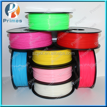 2016 Primes 1.75mm/3.0mm PLA 3d printer filament with CE Rosh Certificate