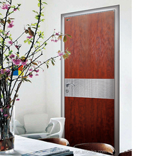 Modern Design Aluminum Bedroom Door Made In Foshan