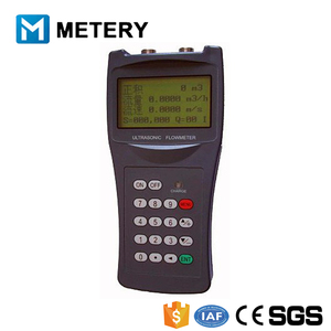 Ultrasonic cheap dirty water water flow test meter