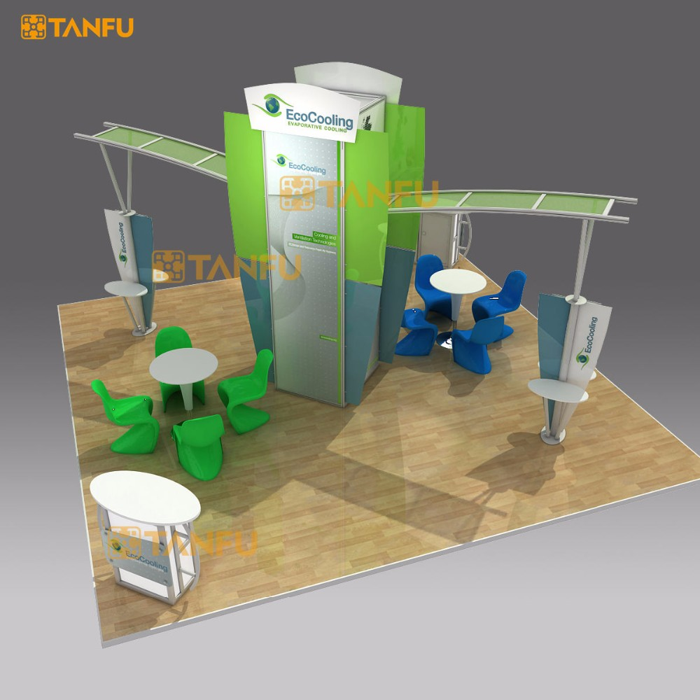 TANFU 6x6 Exhibition Trade Show Booth Display