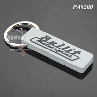 Square Shaped Custom Injection Embossed Logo Promotional Soft PVC Rubber Keychain
