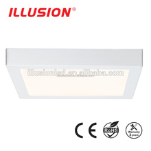 18w 1450lm surface led panel light square