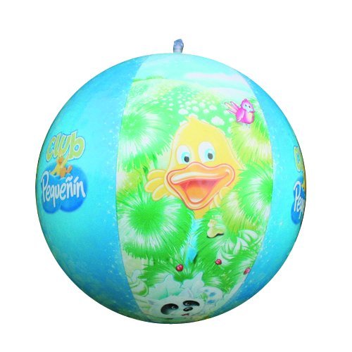 PVC Inflatable Beach Ball with Rainbow Color