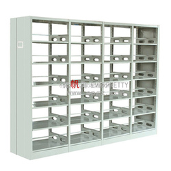 high quality library furniture stainless steel bookshelf