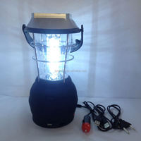 36pcs high bright LED solar power camp light made in China