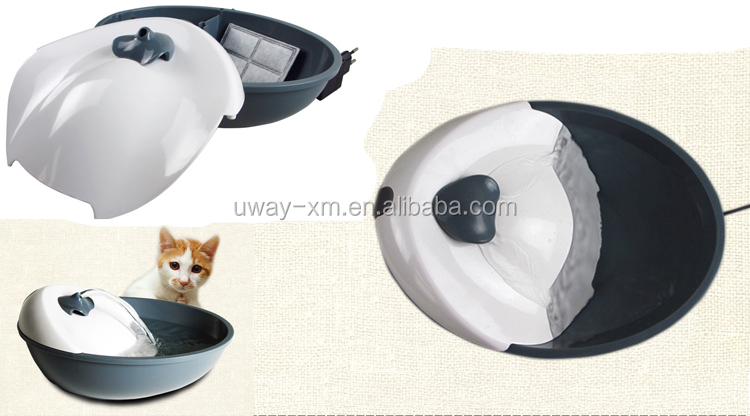 Newest two-way arc flow automatic pet water fountain