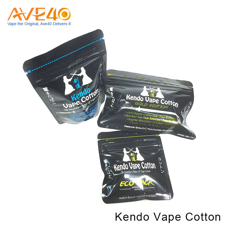 Top Selling Product Tasteless Lost Lasting Kendo Vape Cotton For RDTA Tank Coil